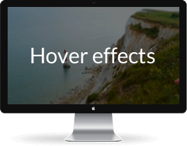 12 Hover effects