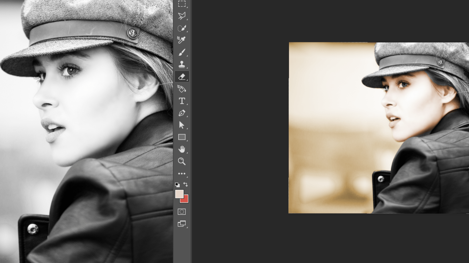 How to colorize black and white photos in photoshop
