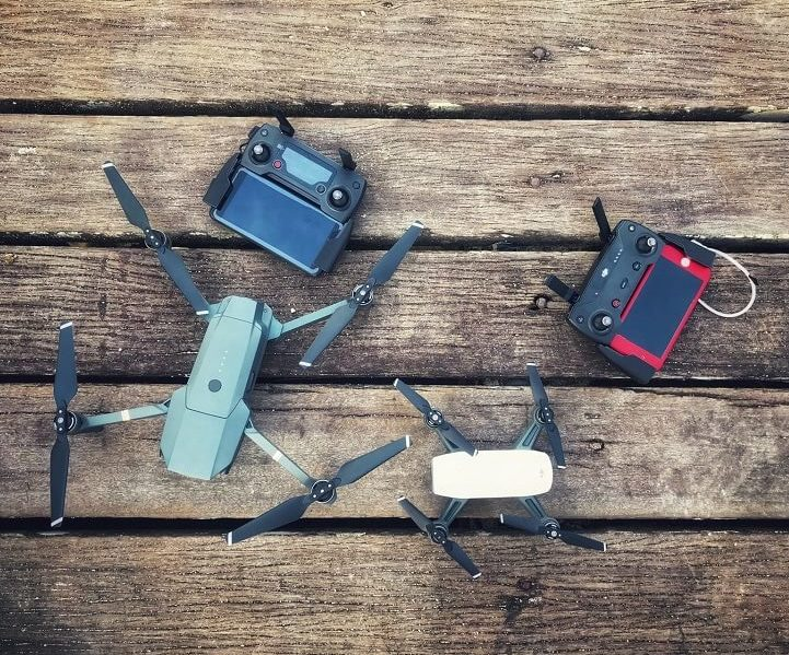learn drone equipment
