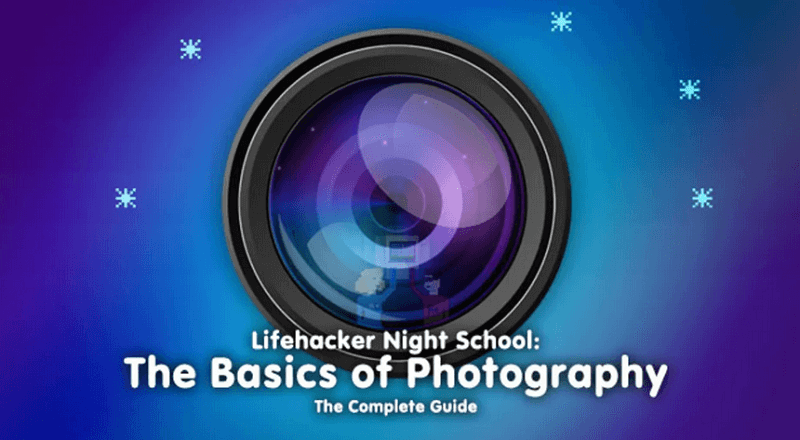 the basics of photography - the complete guide