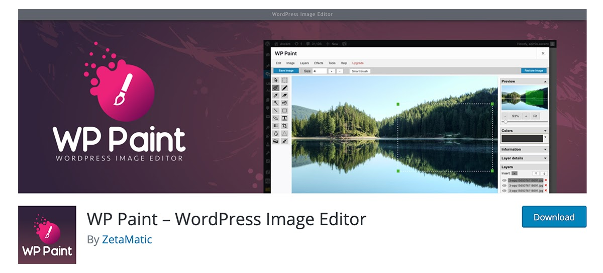 WP Paint - WordPress Image Editor