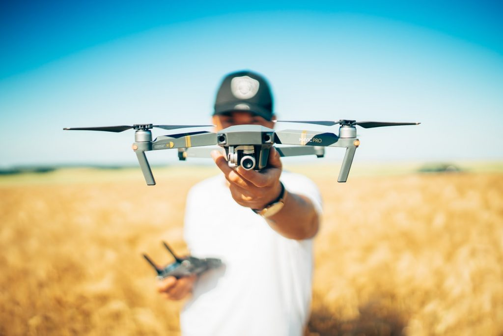 A drone used for photography