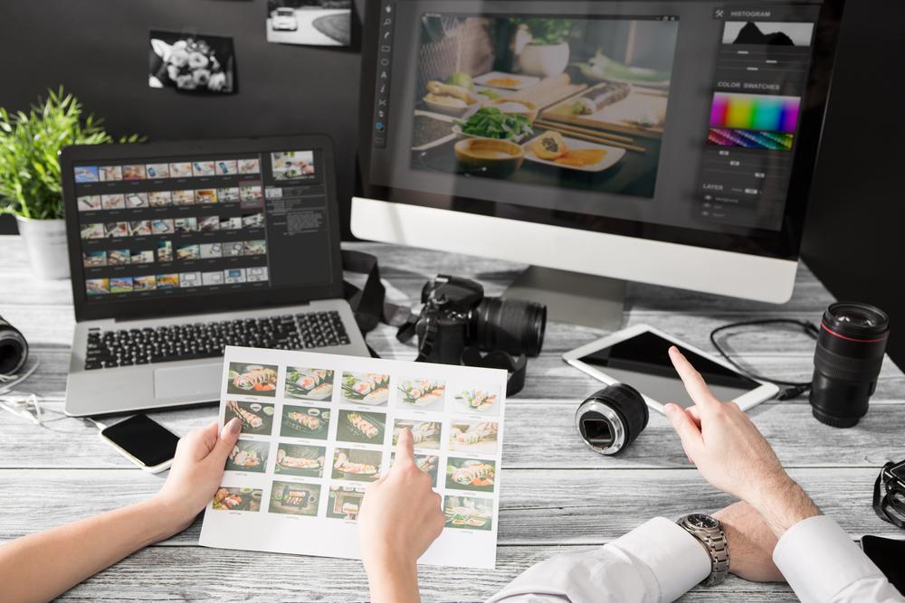 Freelance photography editing software