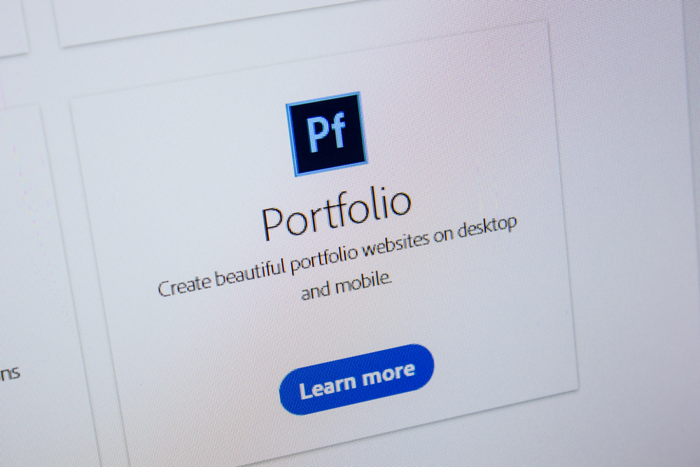 Adobe Portfolio Website Builder