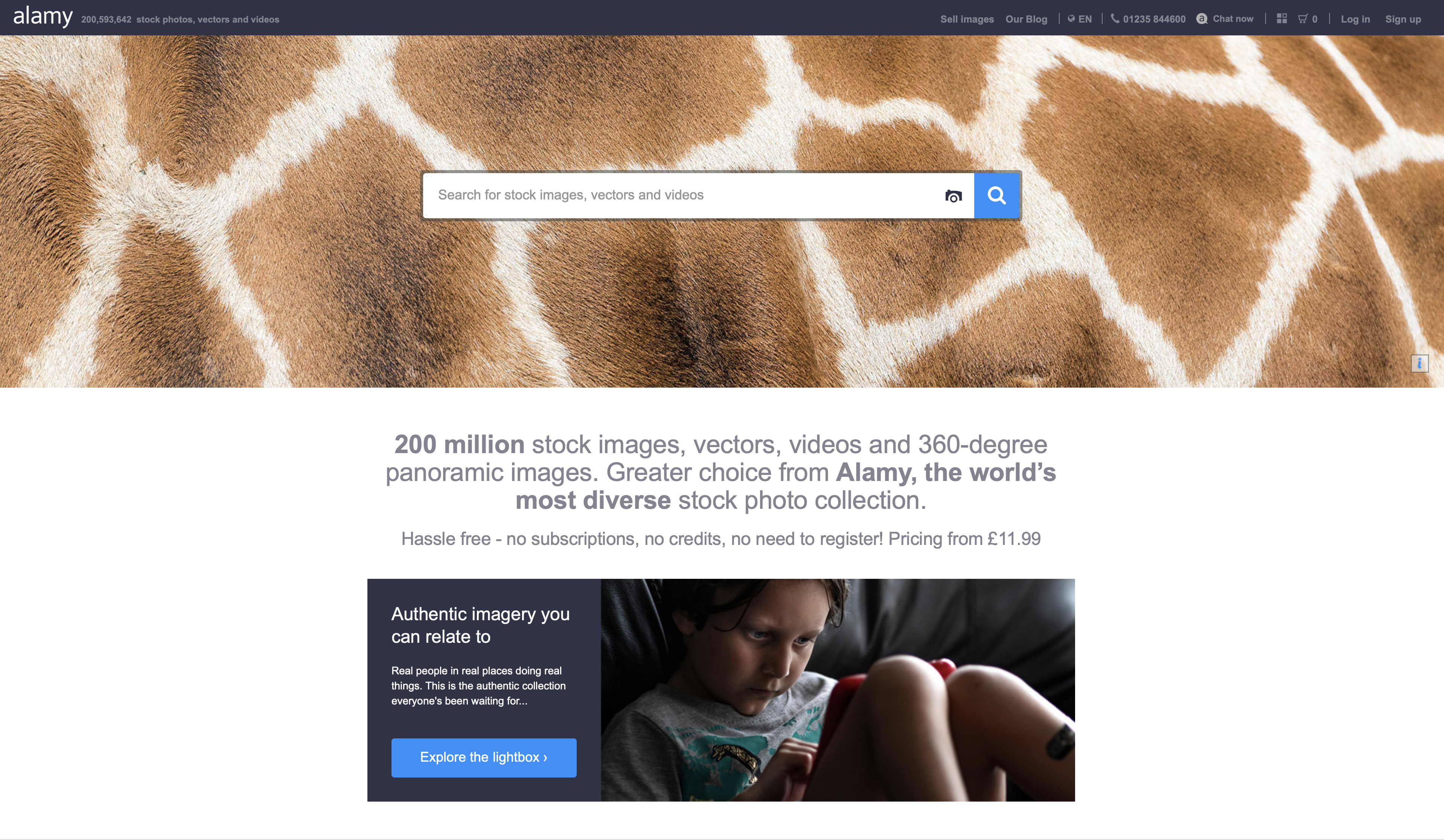 Alamy is a good alternative to sell photos online