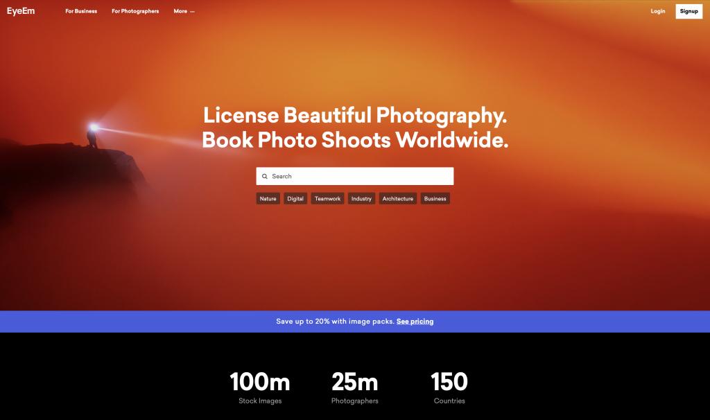 EyeEm is a good alternative for selling photos