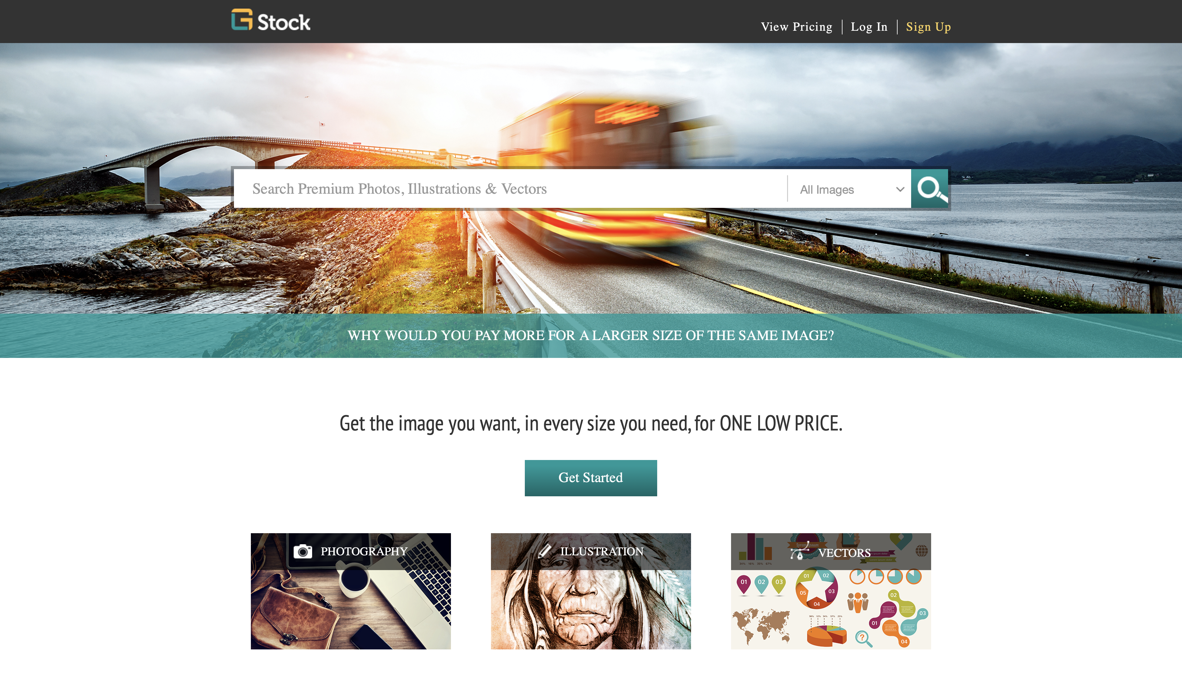 Selling with GL Stock Images