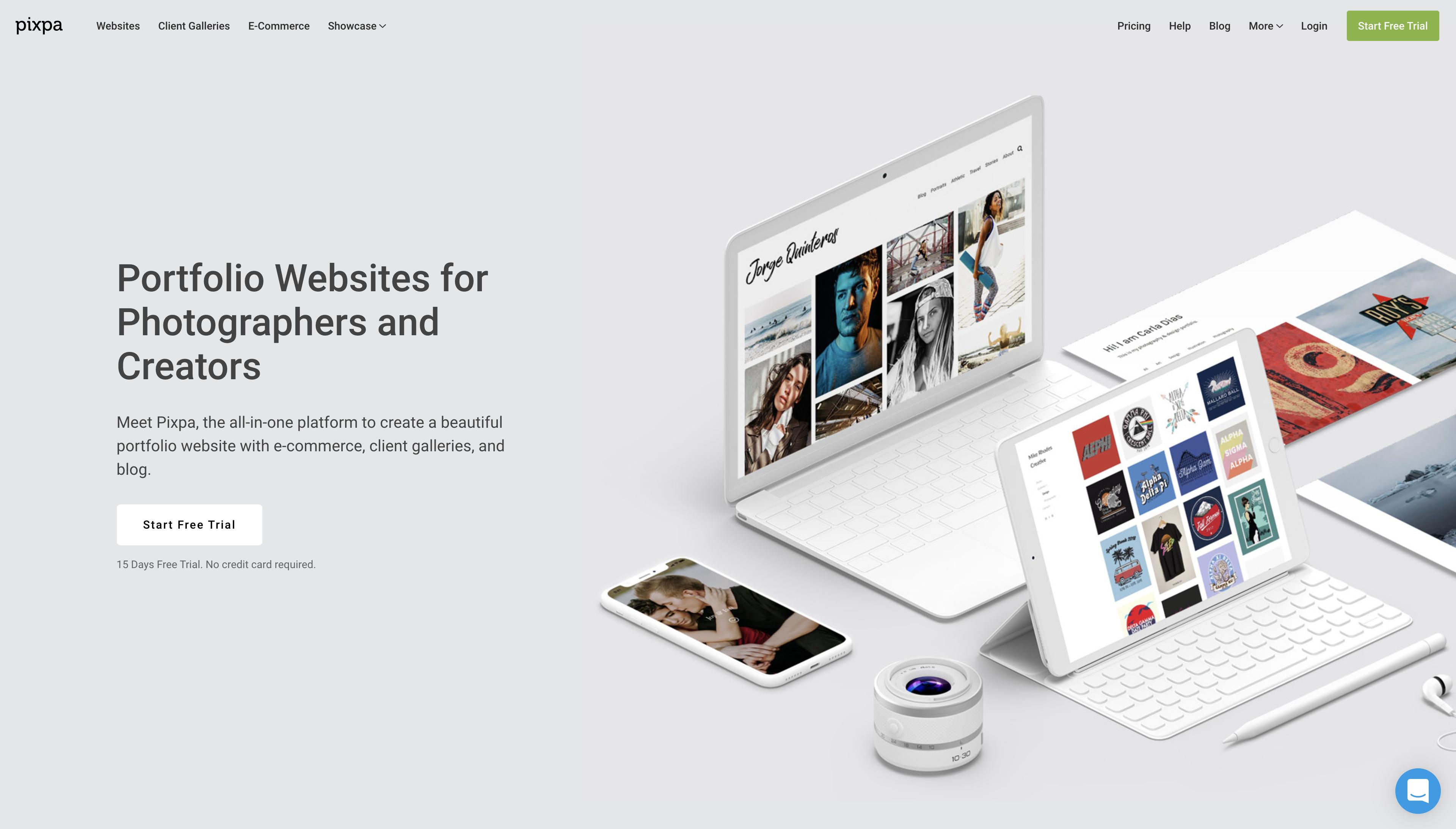 Pixpa Website Builder