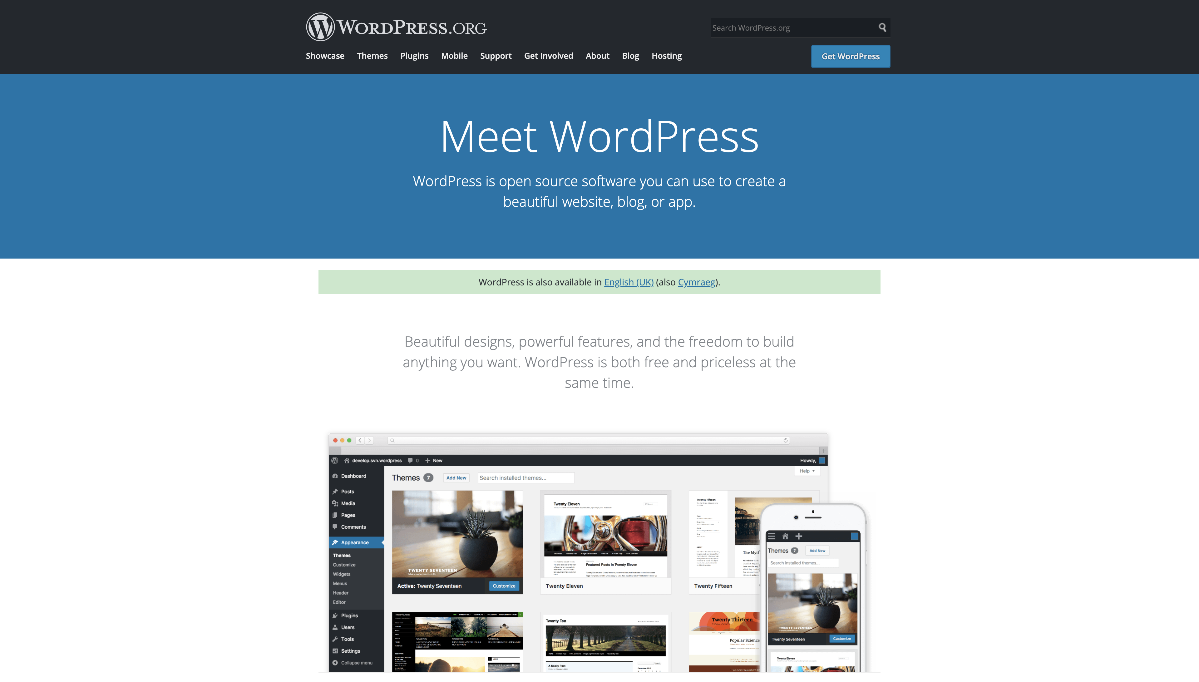 WordPress.org Website Builder