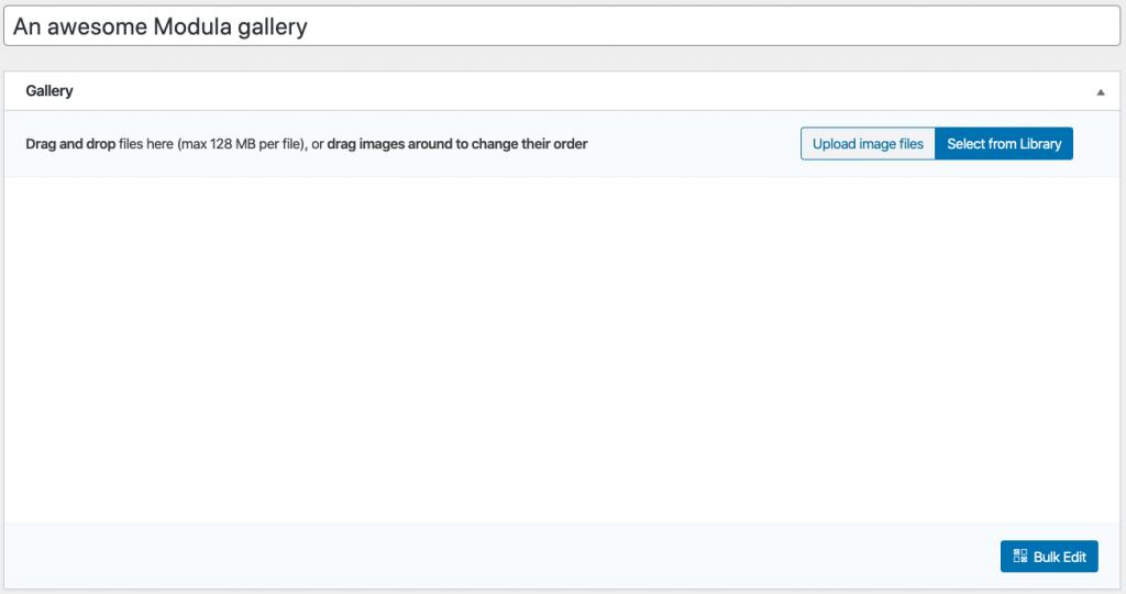 WP Modula Gallery Title