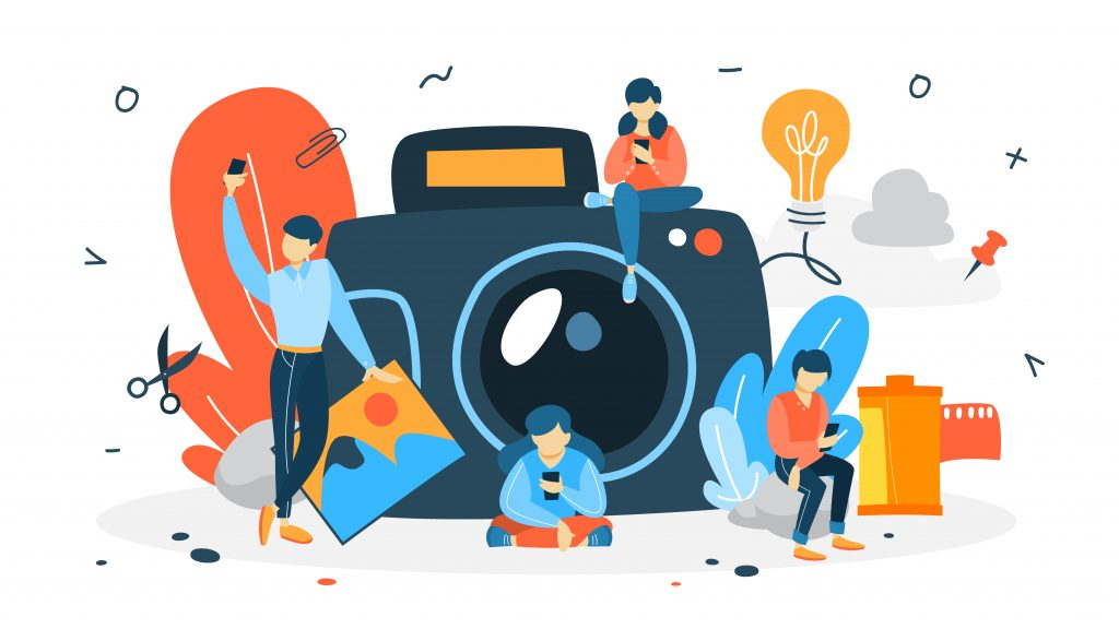 photography concept - macro photography