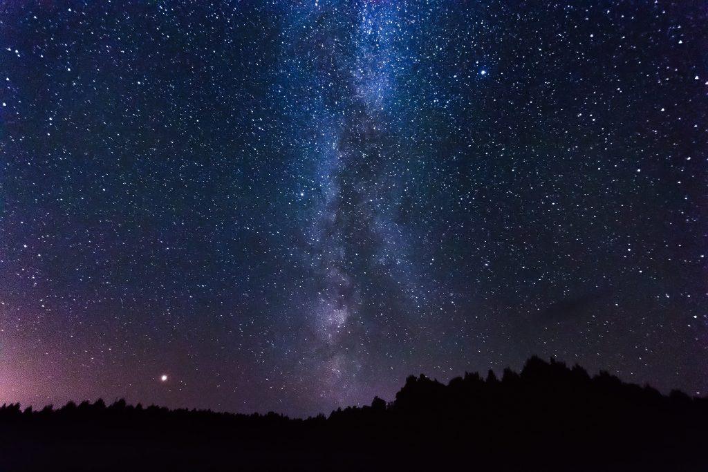 lomng exposure sky
