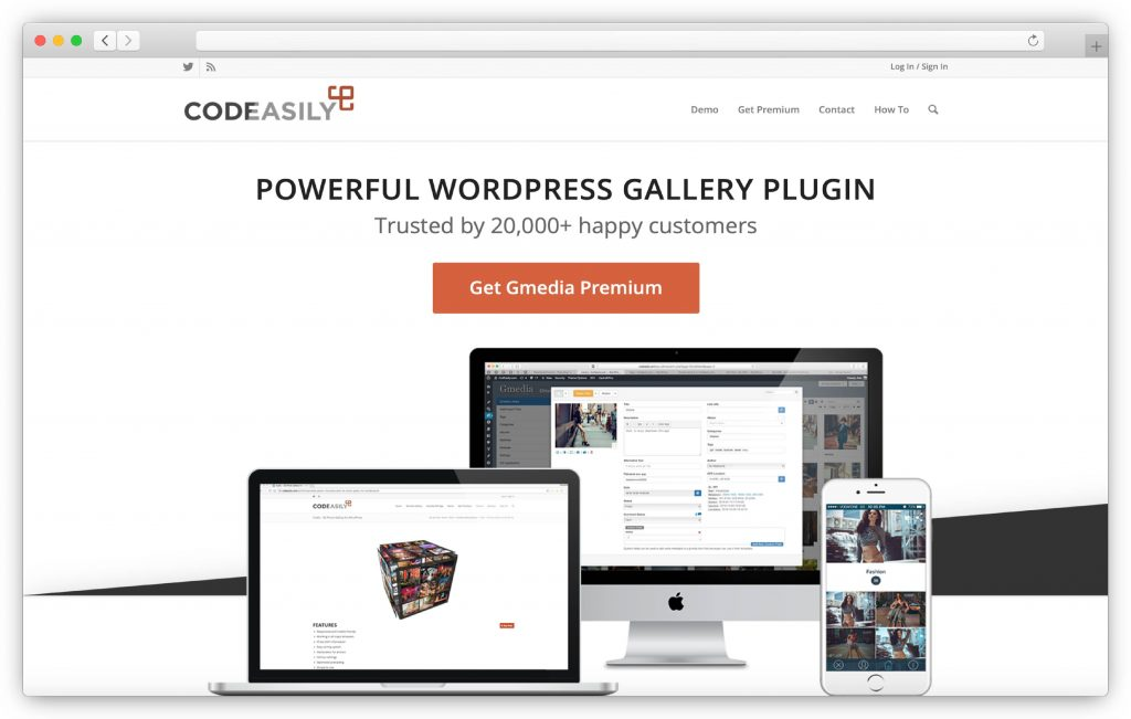 Gmedia interface - WP gallery plugin