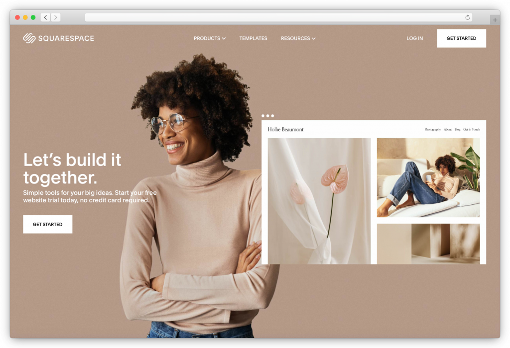 Squarespace- website builder for photographers