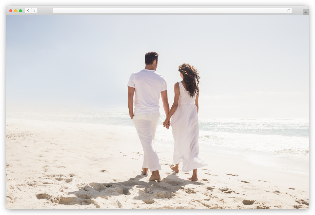 session with a couple on the beach