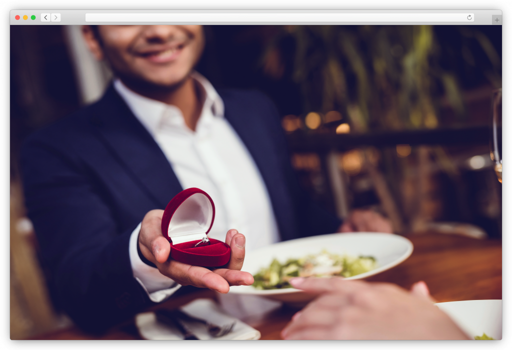 Engagement photoshoot - Will you marry me?