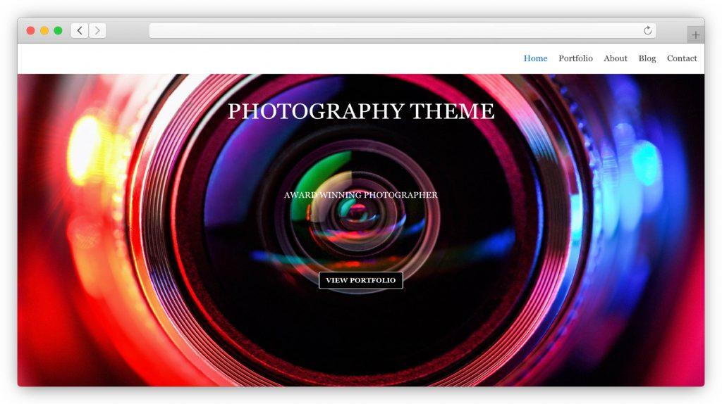 neve - photography theme