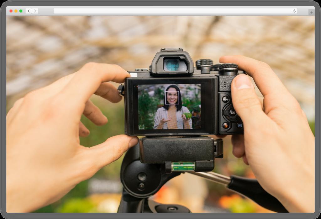 Digital camera for portraits