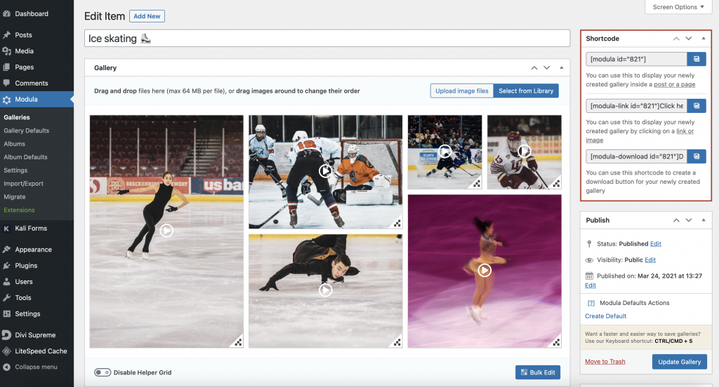 Add video to WordPress page
