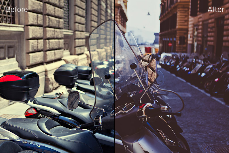 Car and Motorcycle Lightroom Preset