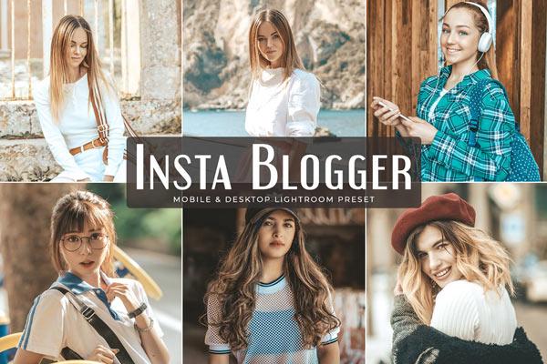 Blogger Style Lightroom Preset