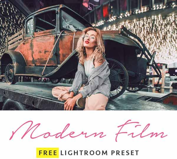 Modern Film Lightroom Preset
